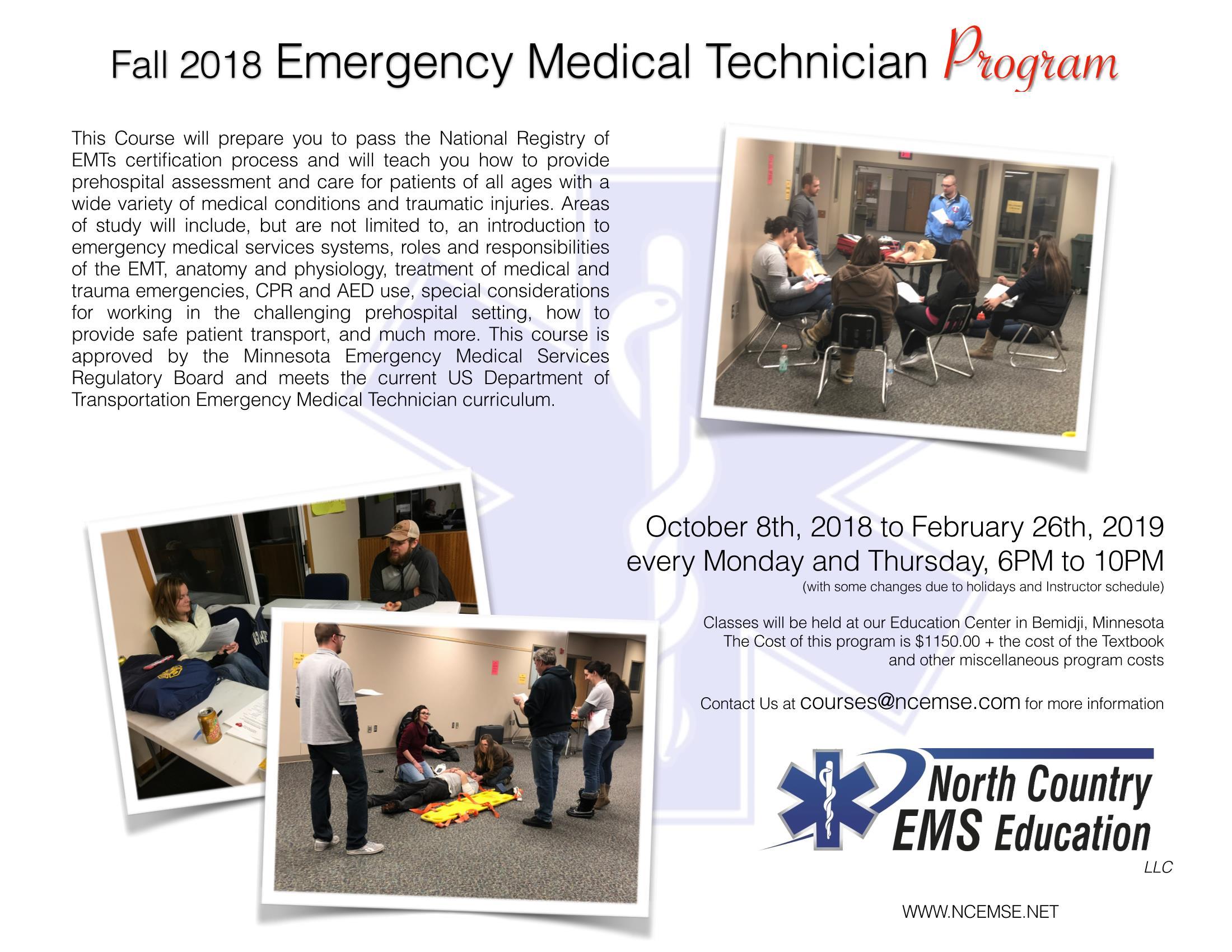 2018 EMT Course